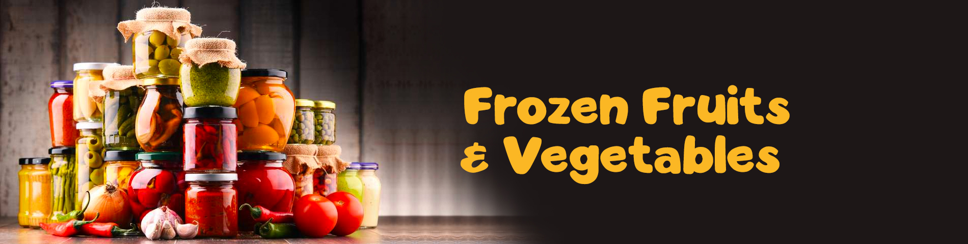 Frozen Fruits & Vegetables